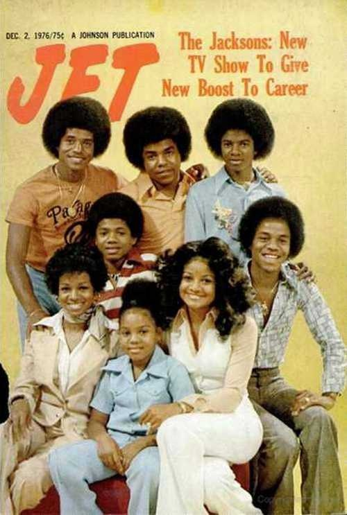 The Jacksons On The Cover Of The December 2, 1976 Issue Of JET Magazine