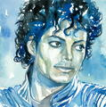 michael-jackson-thriller-portrait - michael-jackson fan art