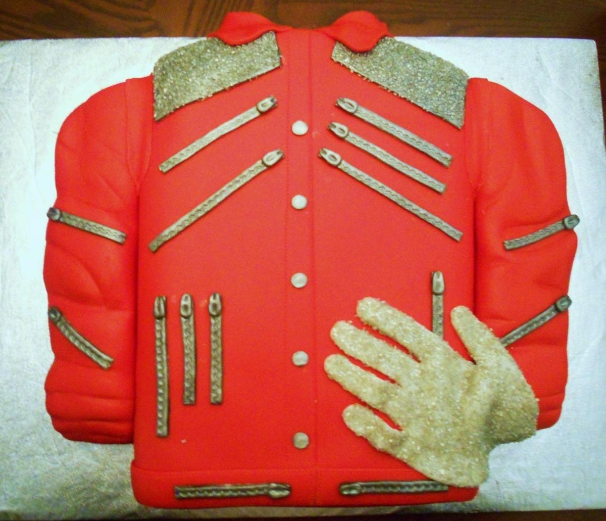 Amazing MJ cake