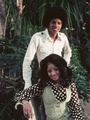 Michael And Older Sister, LaToya - michael-jackson photo