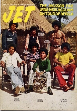 The Jackson 5 On The Cover Of JET Magazine