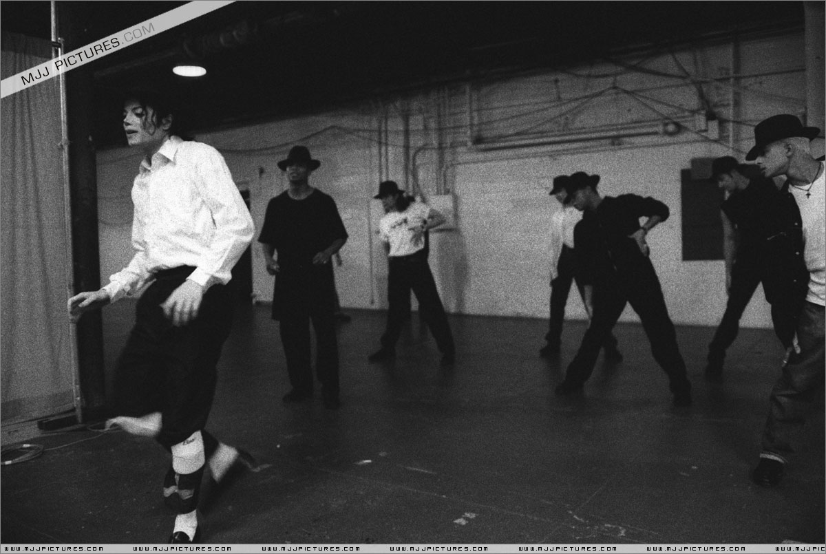 Rehearsal For The 1993 American música Awards