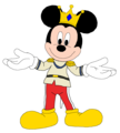 Prince Mickey - Minnie-rella - mickey-mouse fan art
