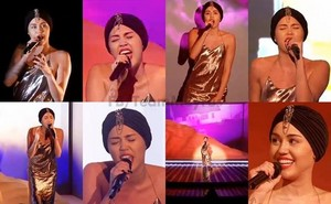 Miley on X Factor