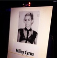 Miley's seat plan at AMA 2013 - miley-cyrus photo