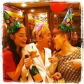 Miley celebrating her bday backstage wid frndzzz - miley-cyrus photo