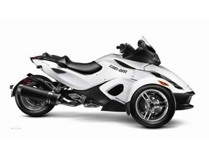 Miley's bday gift from her parents a 2014 Can Am Spyder, a 3-wheel motorcycle