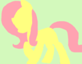 Fluttershy I Drew on Paint