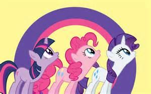 Twilight Sparkle, Pinkie Pie, and Rarity