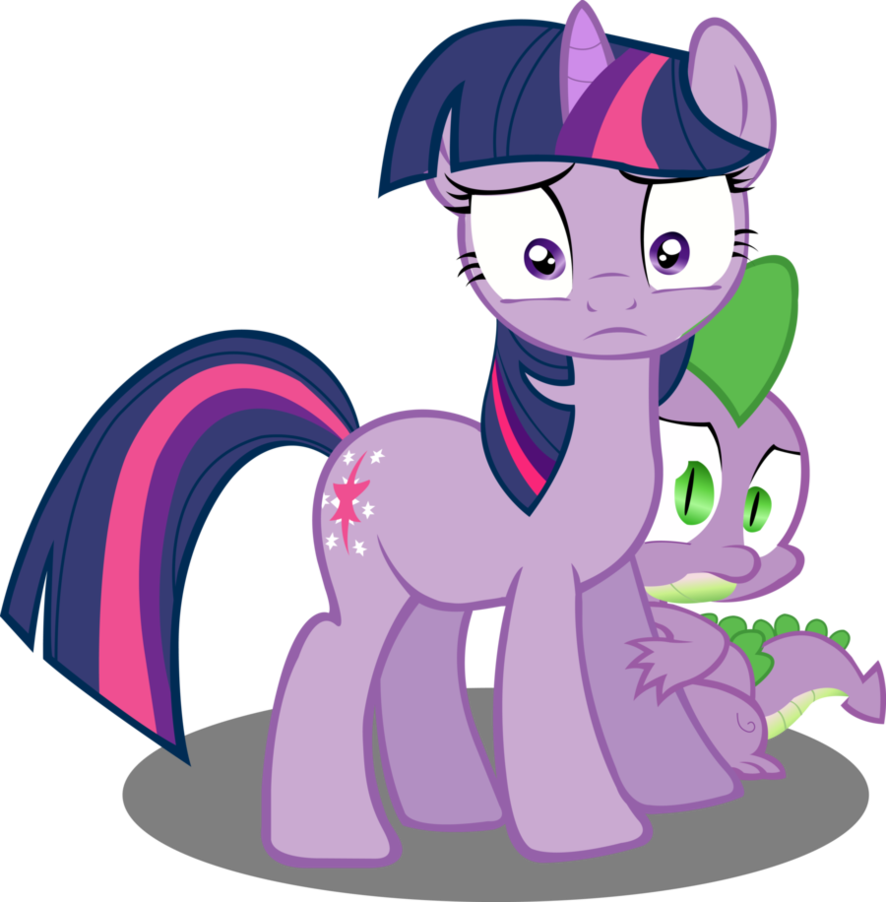 My little pony friendship is magic twilight sparkle and spike