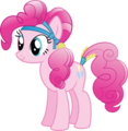 Pinkie Pie as a Crystal Pony