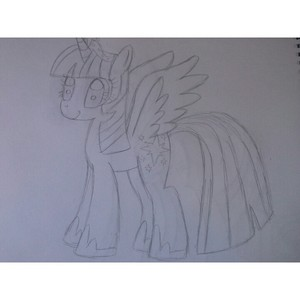 Twilight Sparkle Sketch