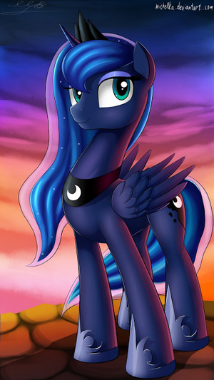A cool pic of Luna... for no particular reason... but to make Karina happy.
