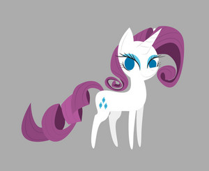 Rarity Pointy Ponies