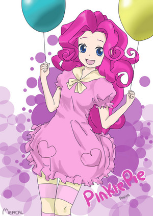 Pinkie Pie as a Human