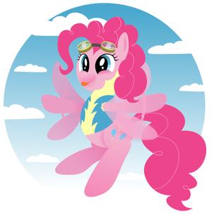 Pinkie Pie as a Wonderbolt