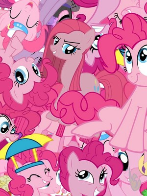 Pinkie pie collage