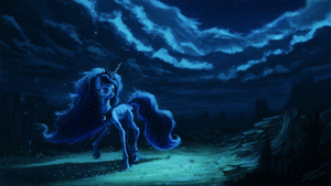 Princess Luna at Night