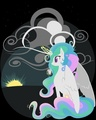 Princess Celestia Raising the Sun - my-little-pony-friendship-is-magic photo