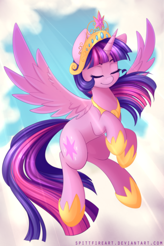My Little poni, pony - La Magia de la Amistad fondo de pantalla called Princess Twilight Sparkle