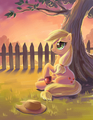 AppleJack                            - my-little-pony-friendship-is-magic fan art