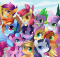MLP                                                        - my-little-pony-friendship-is-magic fan art