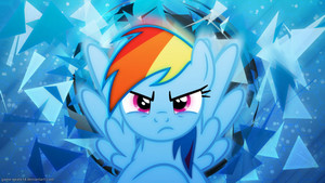 Rainbow Dash Mad Wallpaper