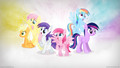 The Mane 6 as Derpy Hooves Wallpaper - my-little-pony-friendship-is-magic photo
