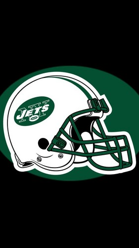 NFL 壁紙 titled Jets ヘルメット