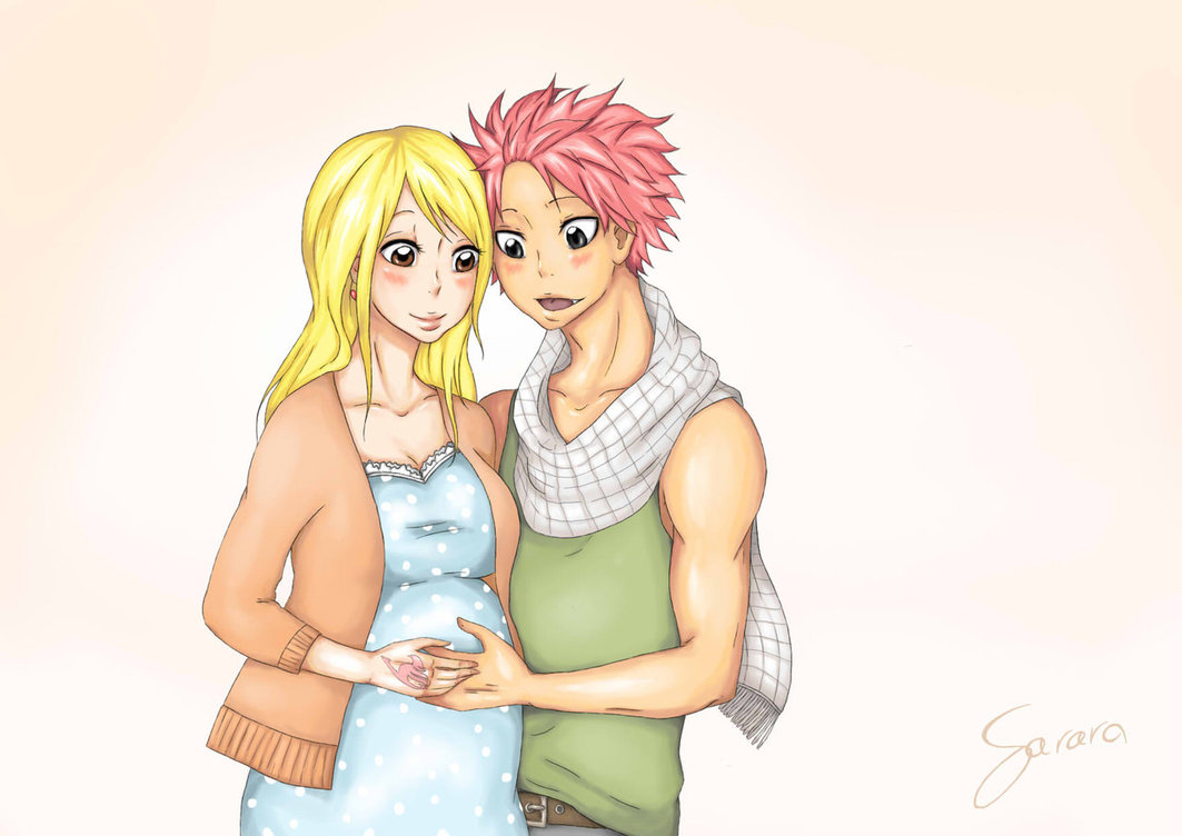 x Lucy  - nalu Fan Art...