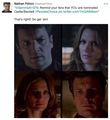 Nathan's twitter-November,2013 - nathan-fillion-and-stana-katic photo