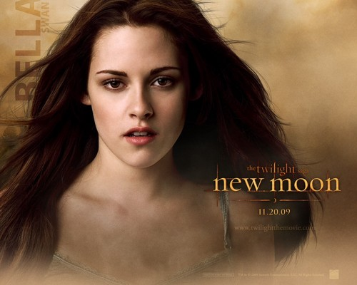 New Moon Movie wallpaper containing a portrait titled Bella Swan <3