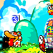 Shy guy running after Poochy