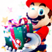 Merry Xmas with Mario - nintendo icon