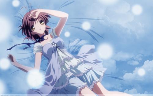 Okazaki Nagisa wallpaper titled ~Nagisa♥(Love)