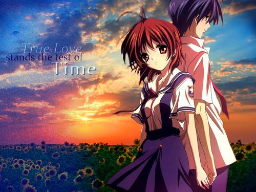 Okazaki Nagisa fondo de pantalla called ~Nagisa♥(Love)