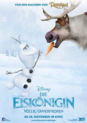 Olaf and Sven German Poster