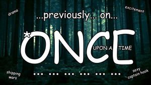 Previously on once upon a time