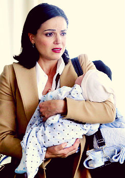 Regina and baby Henry