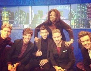One Direction and Oprah