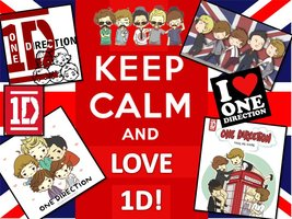 Keep Calm and l'amour 1D