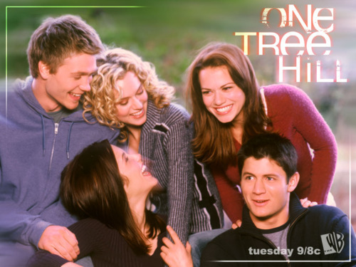 One Tree Hill wallpaper with a portrait called Oth gang <3