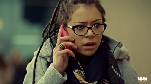 ulila itim wolpeyper possibly containing an outerwear, a box coat, and a hood titled orphan black wolpeyper