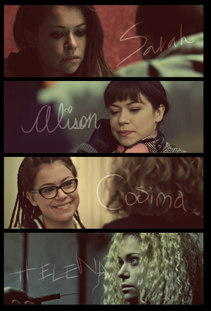 orphan black fã art
