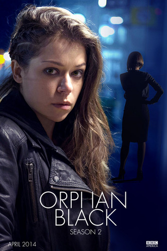 orphan black wallpaper possibly with a box coat, an outerwear, and a well dressed person titled orphan black fan art