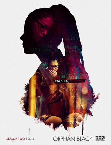 Orphan Black kertas dinding entitled orphan black peminat art