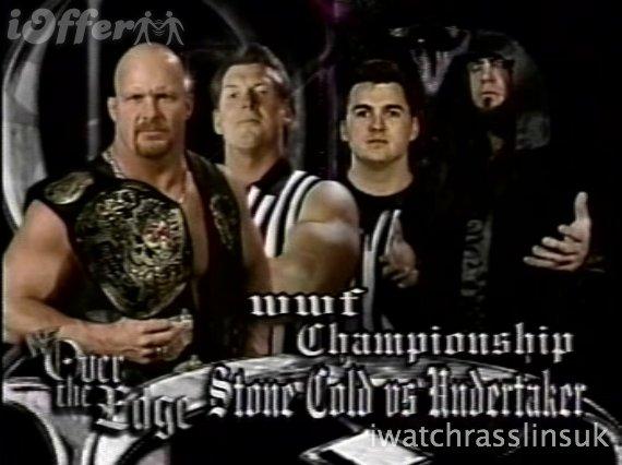 Stone Cold Vs Undertaker Match Card Wwf Over The Edge 1999 Over The Edge Foto 36100032 Fanpop
