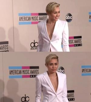 Miley at AMA 2013