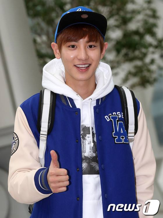 131029] Chanyeol @ Incheon Airport Law of the Jungle Recording