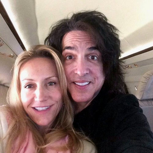 Paul Stanley wallpaper possibly containing a portrait called Paul and Erin ~November 22, 2013
